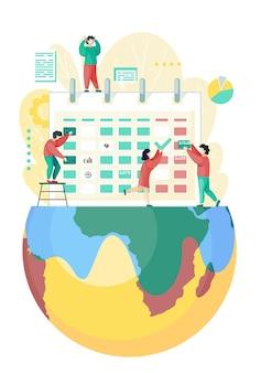 Planowanie i organizacja zadań w kalendarzu pokładowym