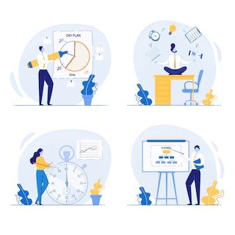 Planowanie koncepcji i organizacja zadań na pokładzie.