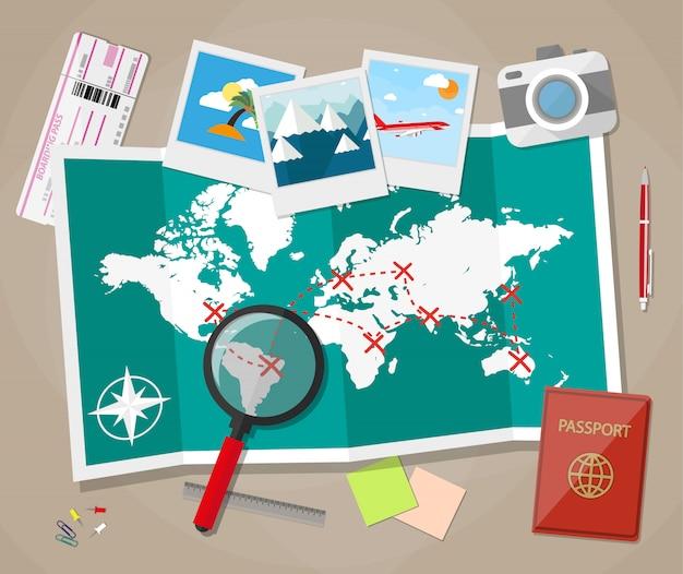 Planowanie koncepcji wakacji