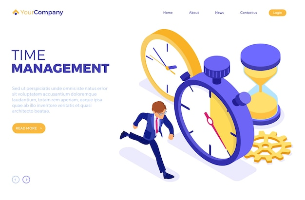 Planowanie zarządzania czasem harmonogramu z zegarem stopera