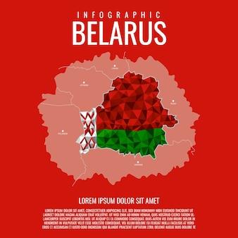 Plansza białoruś mapa