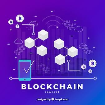 Plansza koncepcja blockchain