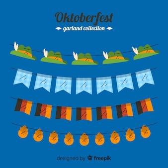 Płaska kolekcja oktoberfest wianek