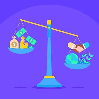 Płaska koncepcja etyki biznesu
