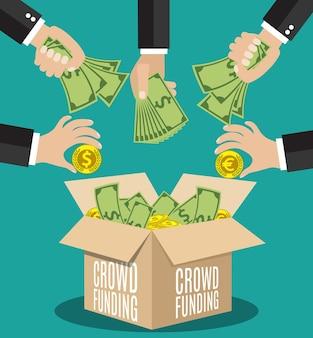 Płaska koncepcja finansowania społecznościowego