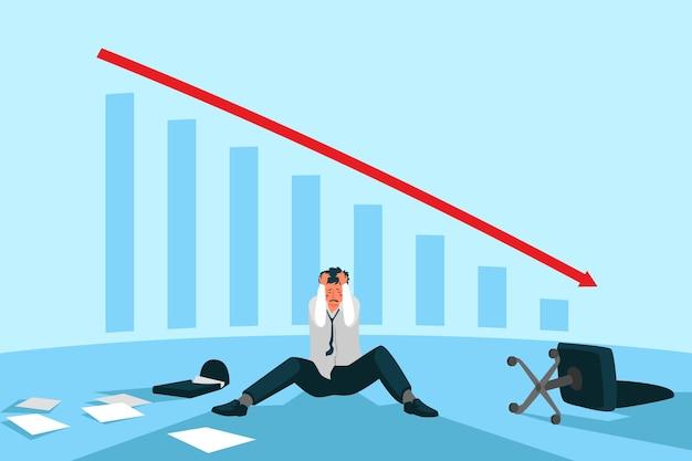 Płaska konstrukcja koncepcji upadłości