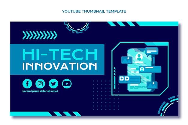 Płaska konstrukcja minimalna technologia miniatura youtube