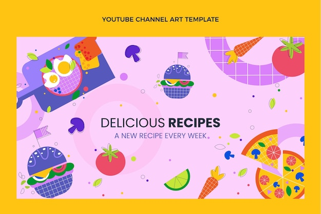 Płaska konstrukcja pyszne przepisy na kanał youtube