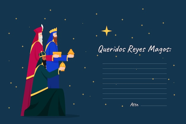 Płaska konstrukcja reyes magos