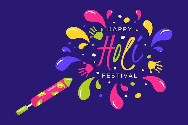 Płaska konstrukcja uroczystości festiwalu holi