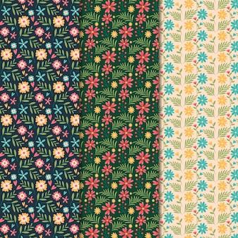 Płaska konstrukcja wiosna wzór kolekcji