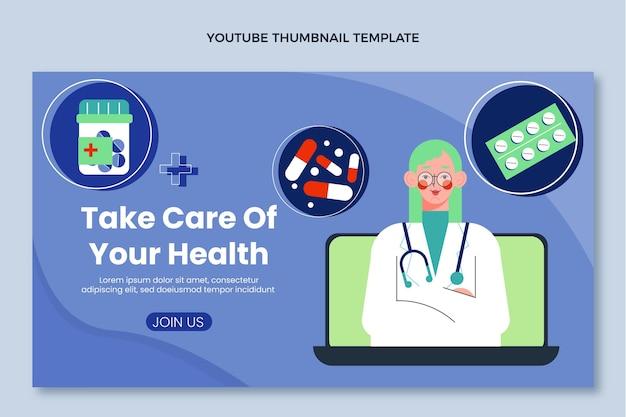Płaska medyczna miniatura youtube medyczna
