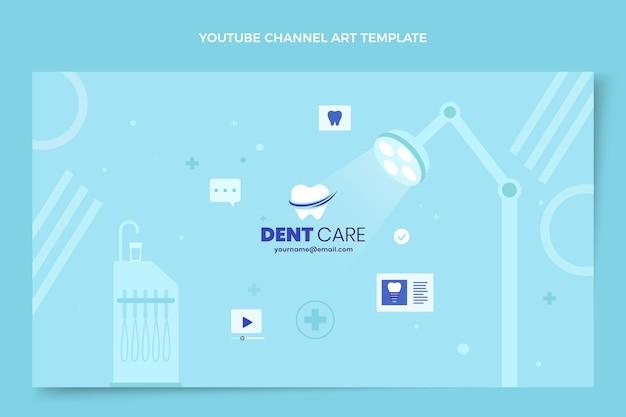 Płaska medyczna sztuka kanału youtube