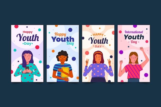 Płaska międzynarodowa kolekcja opowiadań o dniach młodzieży