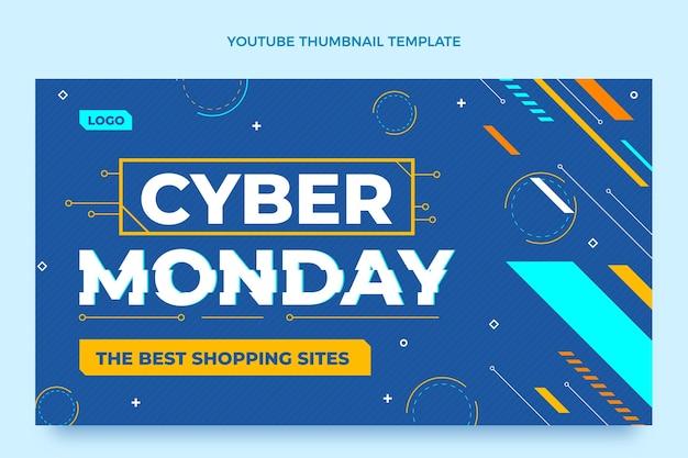 Płaska miniatura youtube w cyber poniedziałek