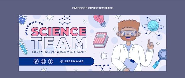 Płaska okładka facebooka nauka