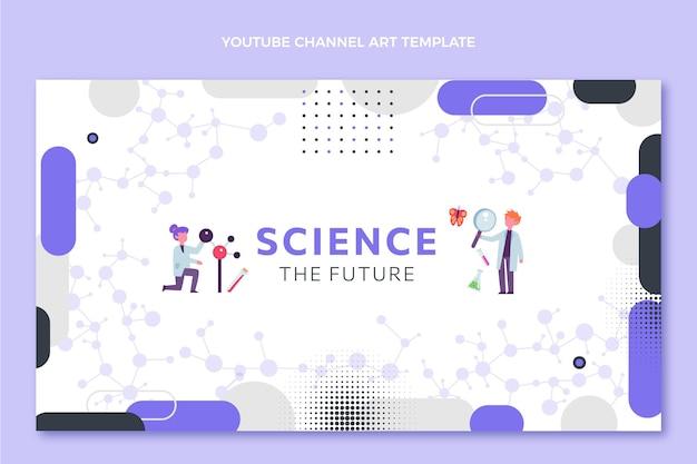 Płaska okładka youtube nauka