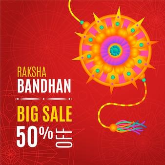 Płaska sprzedaż raksha bandhan