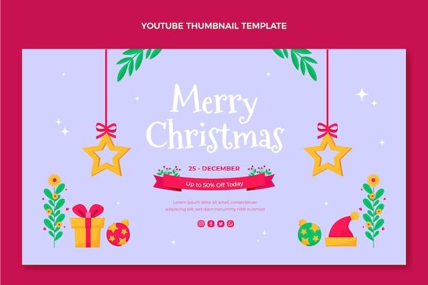 Płaska świąteczna miniatura youtube