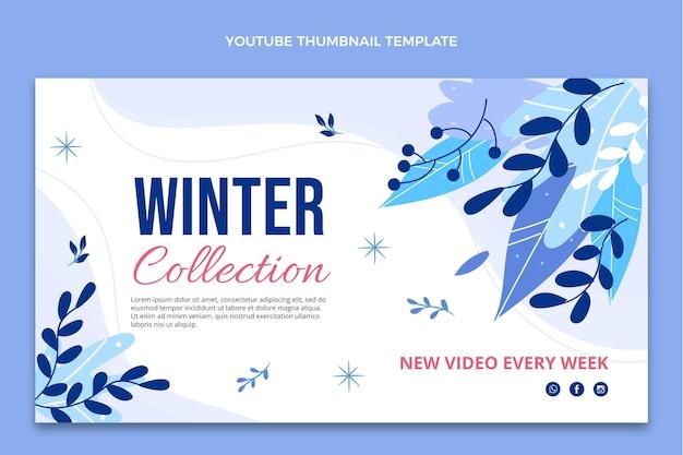 Płaska zimowa miniatura youtube