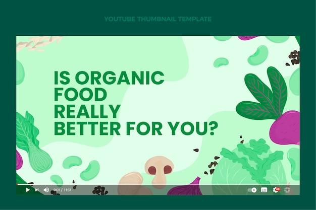 Płaska żywność ekologiczna miniatura youtube