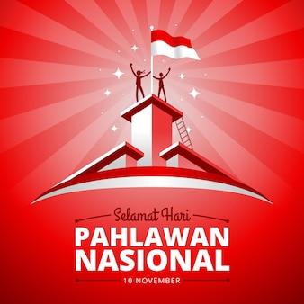 Płaski dzień bohaterów pahlawan