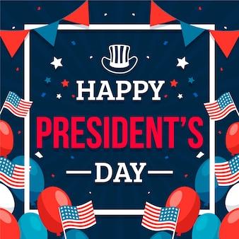 Płaski dzień prezydenta