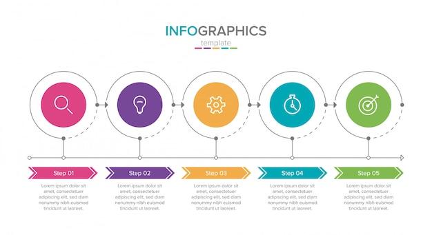Płaski izometryczny infographic.