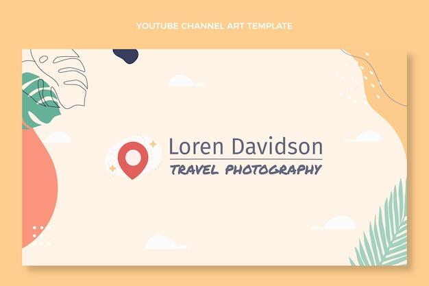 Płaski kanał podróżniczy na youtube