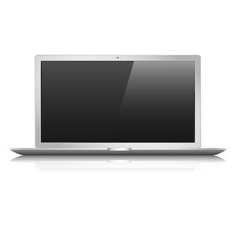Płaski laptop