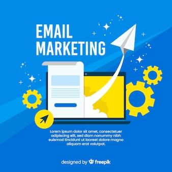 Płaski marketing e-mailowy