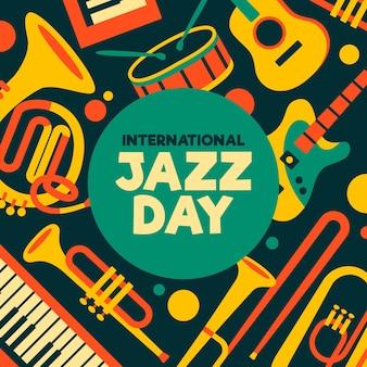 Płaski międzynarodowy dzień jazzu