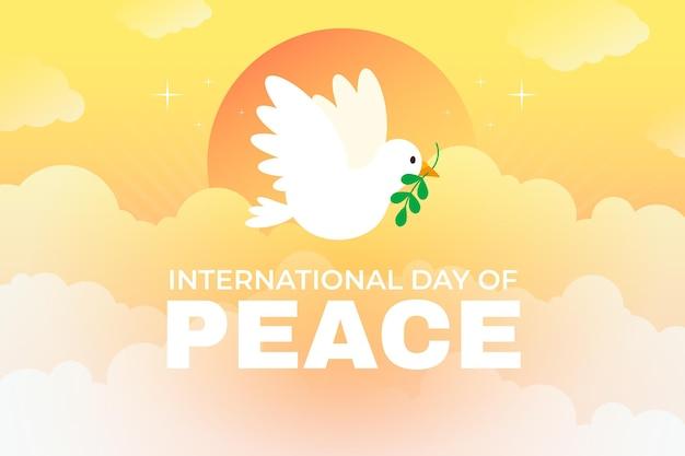 Płaski międzynarodowy dzień pokoju