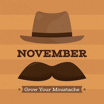 Płaski miesiąc świadomości raka prostaty