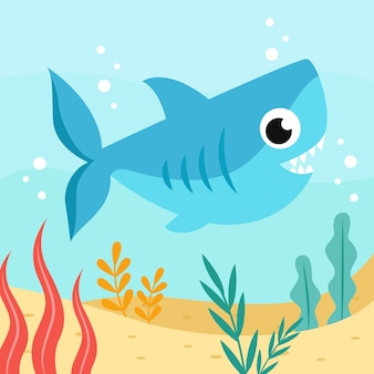 Płaski rekin słodkie dziecko