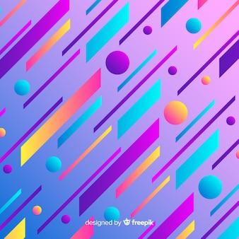 Płaski streszczenie gradient dynamiczne tło
