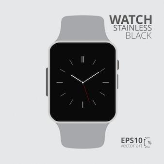 Płaski watch ui