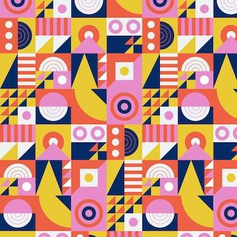 Płaski wzór mozaiki