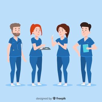 Płaski zespół pielęgniarek