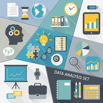 Płaski zestaw analizy danych