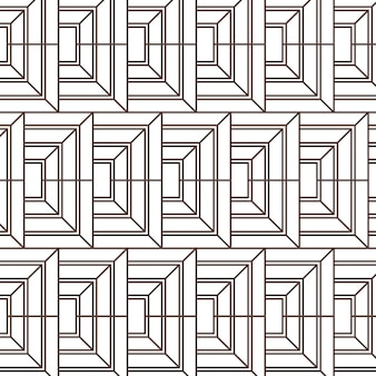 Płaskie abstrakcyjne linie wzór