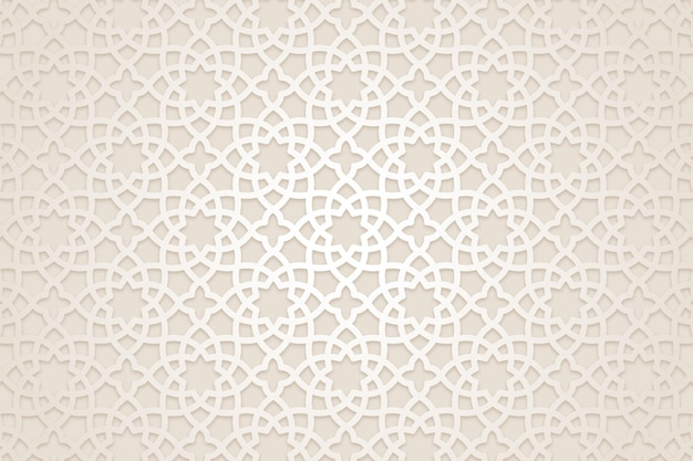 Płaskie arabskie tło wzór