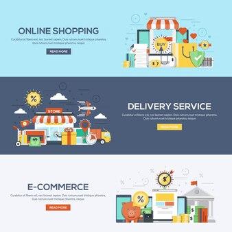 Płaskie banery - zakupy i handel