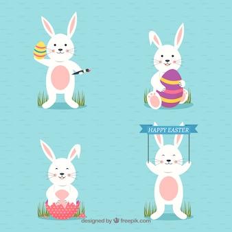 Płaskie króliczek wielkanocny