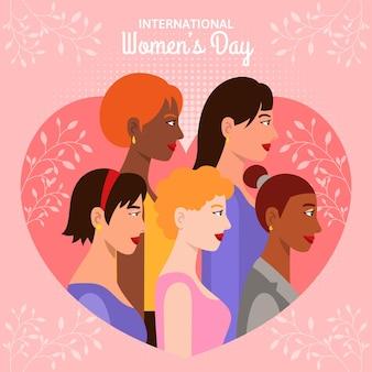 Płaskie międzynarodowe obchody dnia kobiet