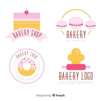 Płaskie opakowanie z logo piekarni