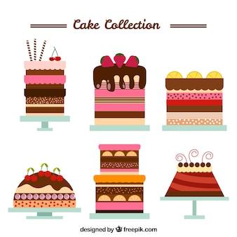 Płaskie torty urodzinowe