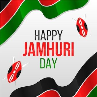 Płaskie wydarzenie dnia jamhuri