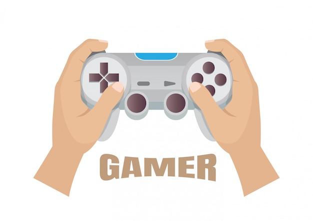 Plastikowe joystick do gier