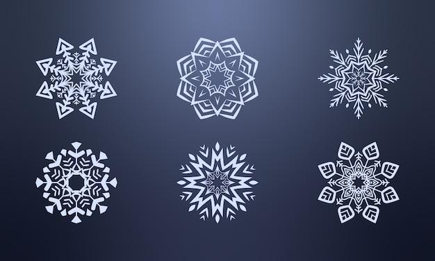 Płatek śniegu scenografia